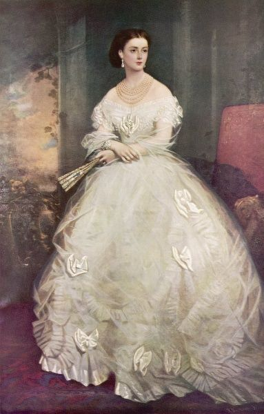 Georgina Elizabeth (nee Moncreiffe), Countess of Dudley (1846 - 1929), society beauty and second wife of 1st Earl Dudley. Daughter of Sir Thomas Moncreiffe