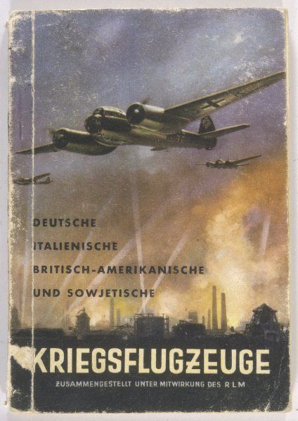 A handbook issued to German forces, enabling them to distinguish aircraft types so, if possible, not to shoot down their own aircraft