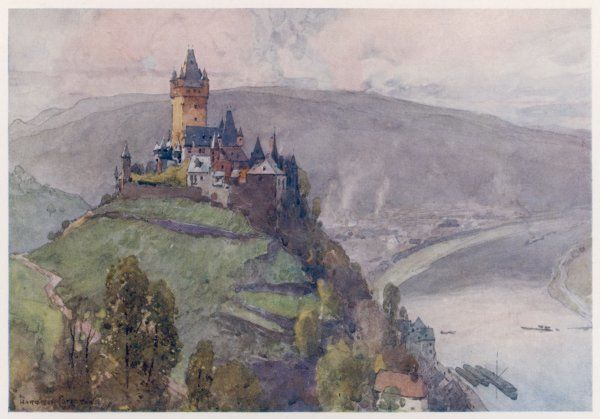 Cochem: Castle on the Mosel