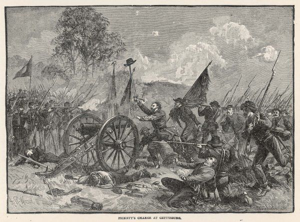 Pickett's charge. Marking a turning point, this battle ended with a Union victory, but both sides suffered heavy losses