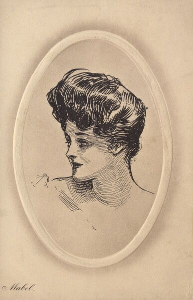 Gibson Girl - Mabel Date: circa 1910s
