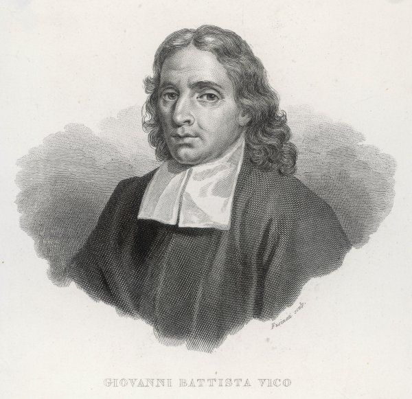 GIOVANNI BATTISTA VICO Italian Philosopher and Professor in Naples