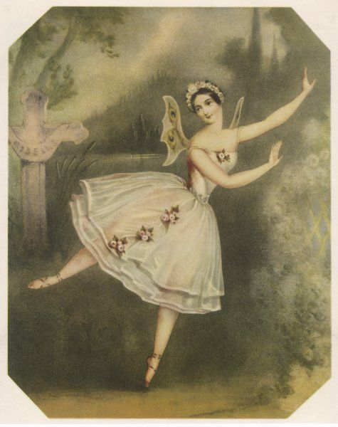 'GISELLE' Carlotta Grisi in the leading role