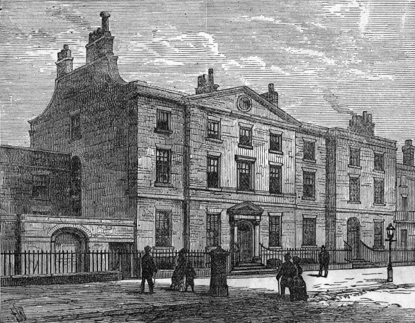 WILLIAM EWART GLADSTONE House in Rodney Street, Liverpool, where the British MP and Prime Minister was born Date: 1809 - 1898