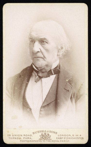 WILLIAM EWART GLADSTONE Liberal MP and Prime Minister