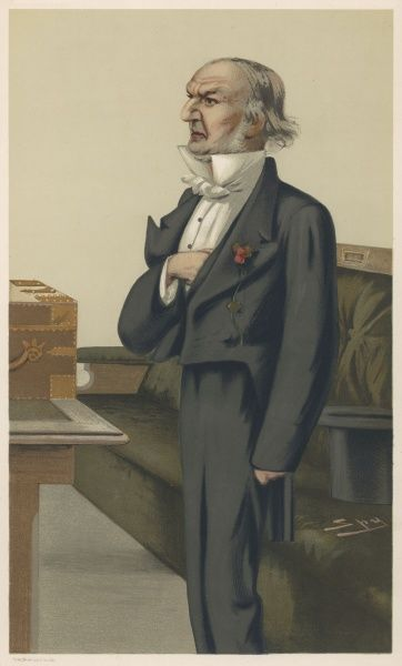 WILLIAM EWART GLADSTONE British statesman