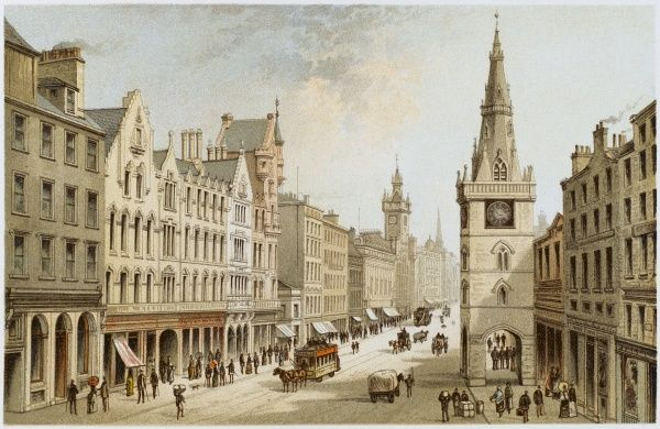 Glasgow: the Trongate