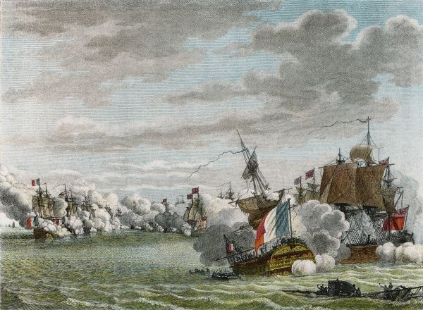 'GLORIOUS FIRST OF JUNE' The French fleet is defeated by Howe off Ushant