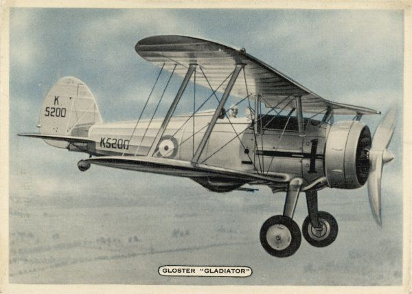 The last of Britain's biplane fighters, it entered service in 1937 and took part in World War Two, notably in the defence of Malta, though quite outclassed by its opponents