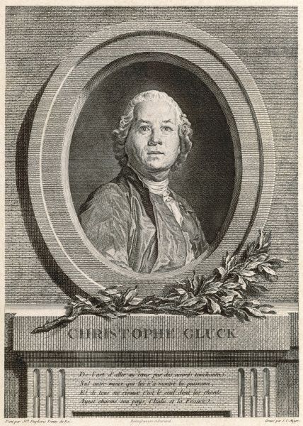 Christoph Willibald Ritter von Gluck. German composer noted for his operatic works