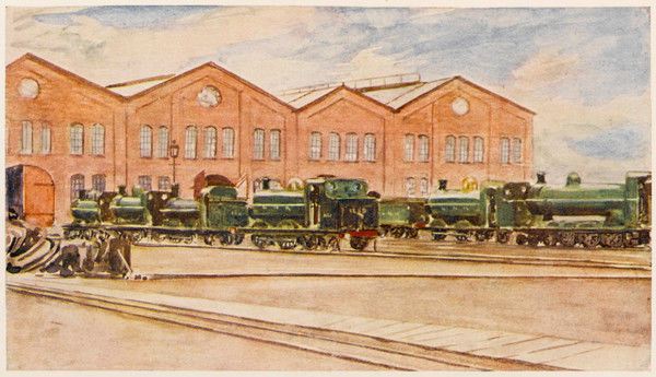 The Great Northern Railway's repair shops at Doncaster