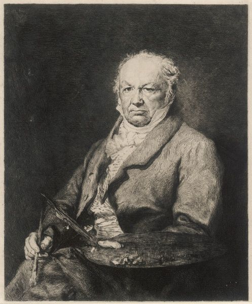 FRANCISCO JOSE DE GOYA Y LUCIENTES Spanish painter, etcher and lithographer