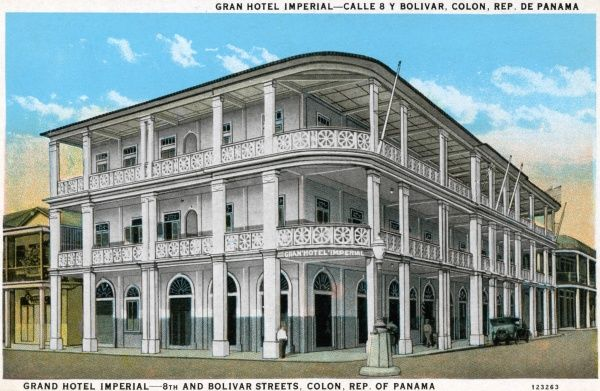 Grand Hotel Imperial, 8th and Bolivar Streets, Colon, Republic of Panama