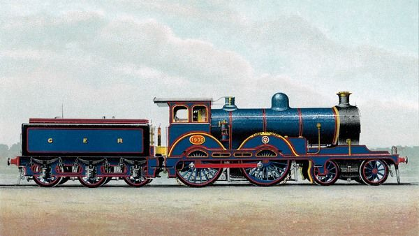 Great Eastern Railway express locomotive no 1000, 'Claud Hamilton&#39