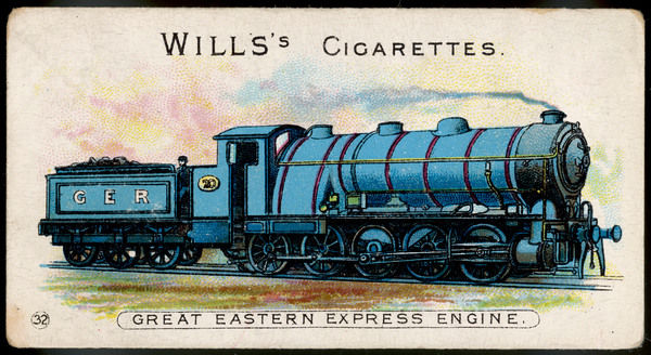 Great Eastern Railway express loco no 20