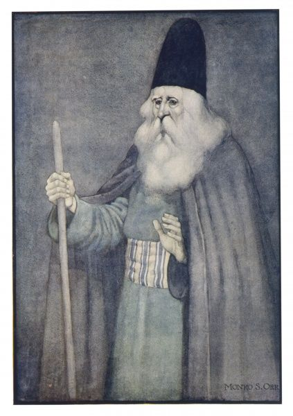 The great sage Douban is versed in the wisdom of the philosophers, and also acquainted with languages, astrology and medicine