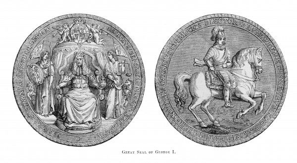 GEORGE I The Great Seal of George I