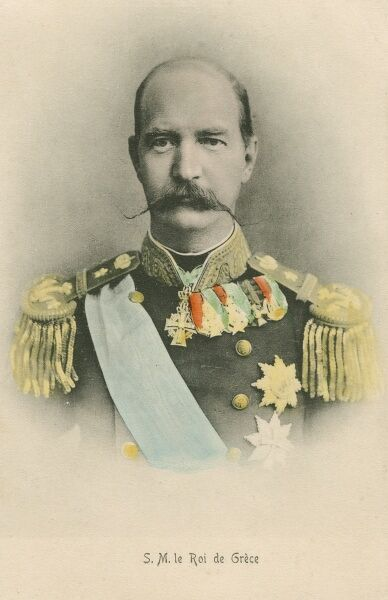 Greece - King George I (1863 - 1913) - assassinated in Thessaloniki