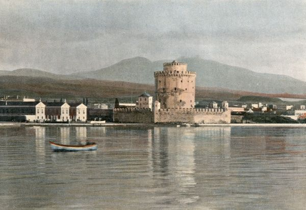 Thessaloniki: the harbour Date: circa 1900