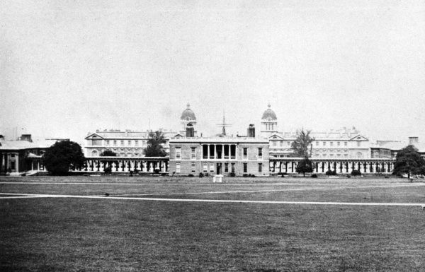 The Queen's House seen from the Park. Date: circa 1870