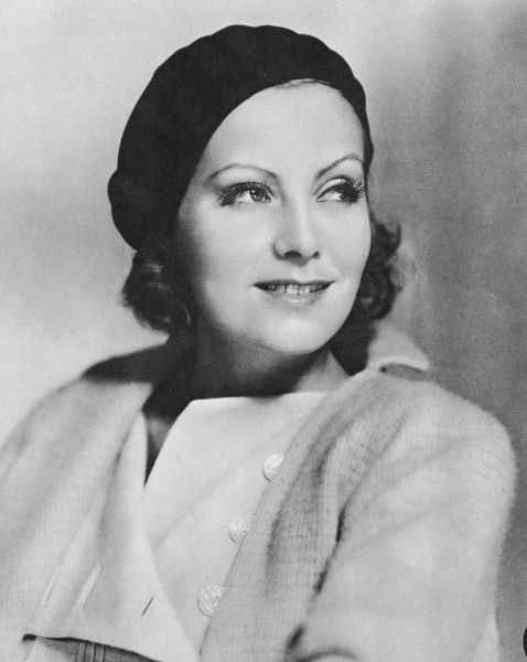 Portrait of Greta Garbo as Anna Christie. Greta Garbo was born in Stockholm and was 'spotted' whilst studying at the Royal Theatre Dramatic School by the Swedish director Mauritz Stiller. Her first Hollywood film was 'The Temptress' 1926