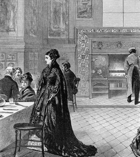 The Grill-Room at the South Kensington Museum (now the Victoria and Albert Museum) in 1871