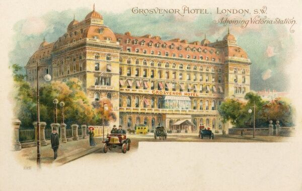 The Grosvenor Hotel - adjoining Victoria Station, Pimlico, London