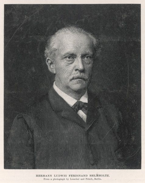 HERMANN VON HELMHOLTZ German physicist, anatomist and physiologist