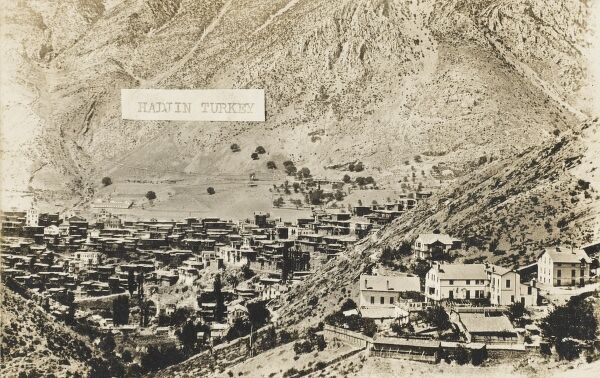 Hadjin, Turkey. Now known as Feke - scene of the Turko-Armenian Horrors. Near Adana