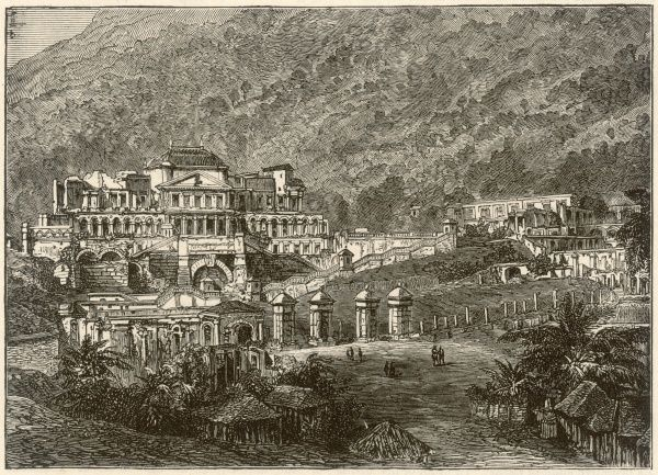 Citadelle Laferrire, the palace of Henri Christophe, ruler from 1807, king 1811-1818, committed suicide 1820