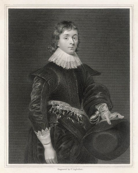WILLIAM HAMILTON, 1st Marquis of Hamilton. Second in line to Scottish throne after James VI