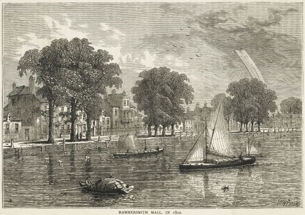 The Thames at Hammersmith Mall