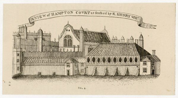 Hampton Court, as finished by Henry VIII