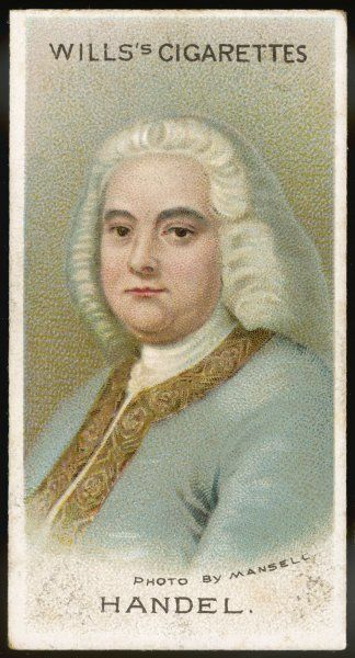 GEORGE FREDERIC HANDEL German-English musician