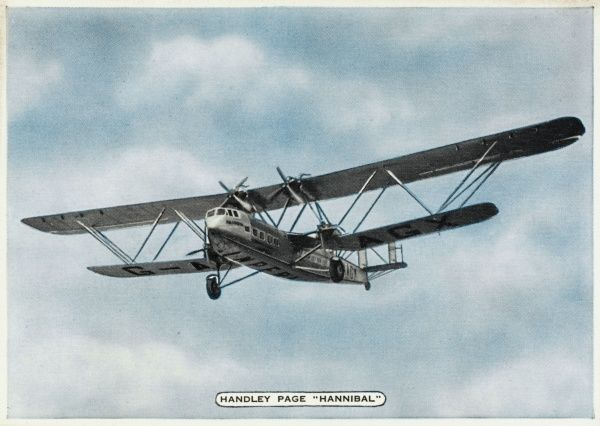 With the near-identical HP42W (= western, i.e. European) 'Heracles', the stately HP42E (= eastern) 'Hannibal' class are the flagships of Imperial Airways on routes to India etc