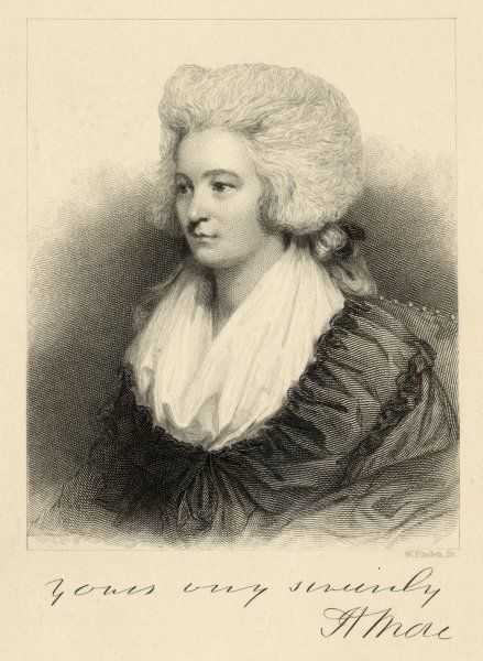 HANNAH MORE English writer (in 1786)