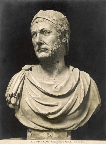 HANNIBAL Carthaginian general, famous for his crossing of the Alps