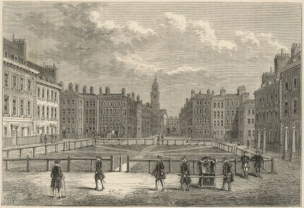 The Square in the mid-18th century