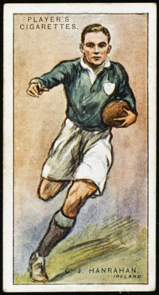 C J Hanrahan, Forward for Ireland