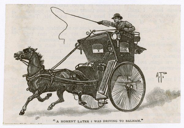 HANSOM CAB - in action