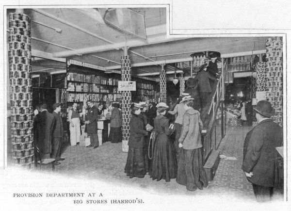 The provision department of Harrods, London