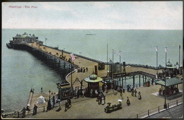 Hastings, Sussex: the pier
