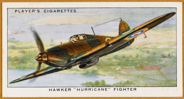 Though lacking the glamour of the 'Spitfire', the plainer 'Hurricane' is more widely used, downing more German aircraft than the rest of the defences combined