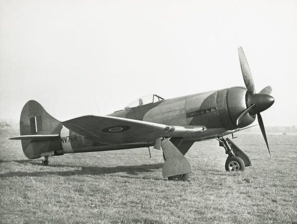 Hawker Tempest V powered by a Sabre IIB NV768, with annular radiator Date: 1944