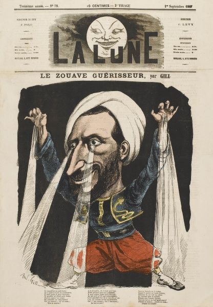 Auguste Henri Jacob, known as 'Le Zouave' French soldier, forced out of army because of healing and clairvoyant powers, became noted healer