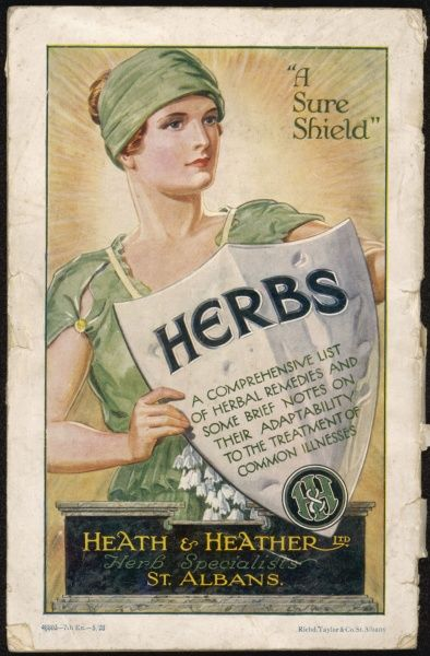 Catalogue of Heath & Heather, the largest retail herb warehouse in the world