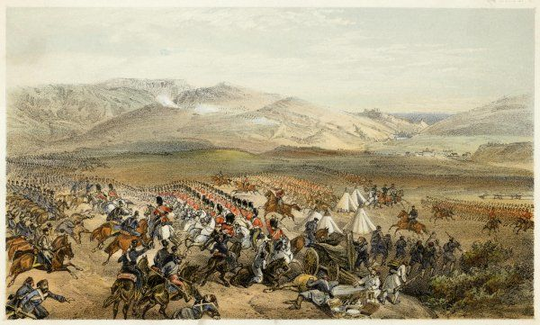 The charge of the Heavy Cavalry