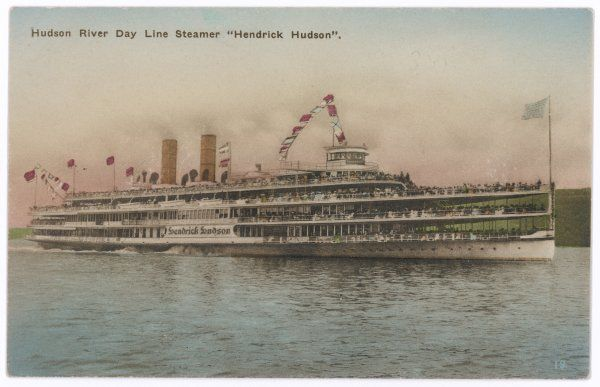 American steamboat of the Hudson River Day Line