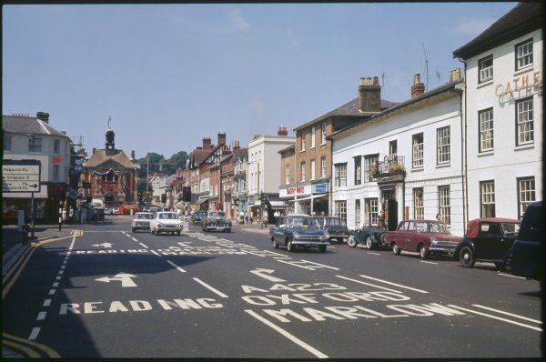 The town centre at Henley-on- Thames, Oxfordshire, England