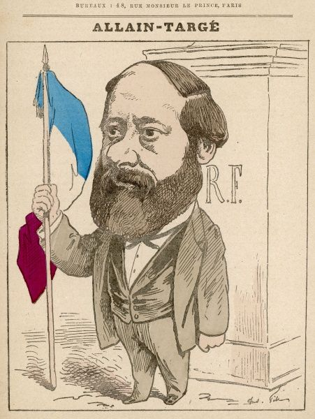 Henri Allain-Targe, journalist, lawyer French republicain politician, City Councilor and member of Paris the Seine